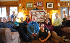 Dog River Quilters with Lodge Crew