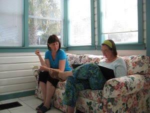 Collaboration in the sunroom