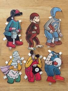 George paper dolls
